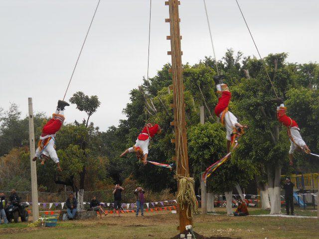 flying men of Veracruz